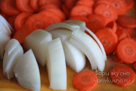 морковь и лук фото