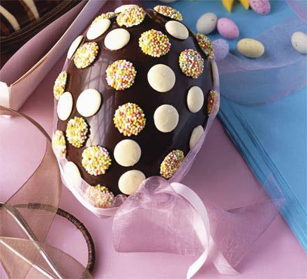 шоколадные яйца на пасху своими руками