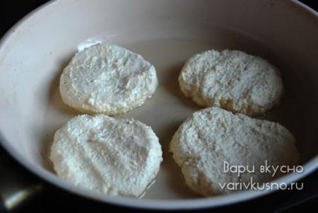 как приготовить сырники с крахмалом