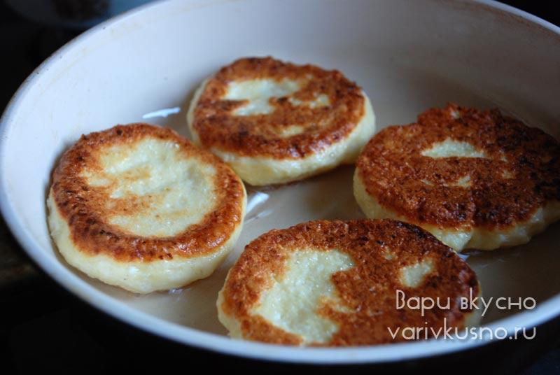 Сырники с крахмалом рецепт