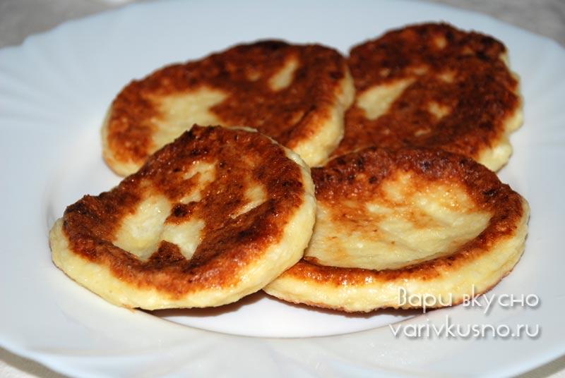 Самые пышные вкусные сырники из творога рецепт пошагово пышные 64