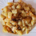 тушеная картошка с грибами в мультиварке-скороварке