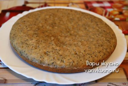 пирог  с ржаной мукой из мультиварки