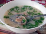 Грибной суп с плавленным сырком