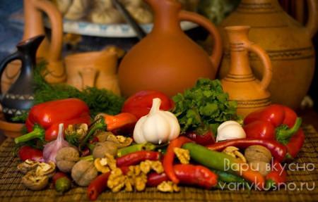 рецепт абхазской аджики