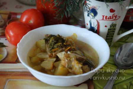 рецепт кабачкового супа с рыбой