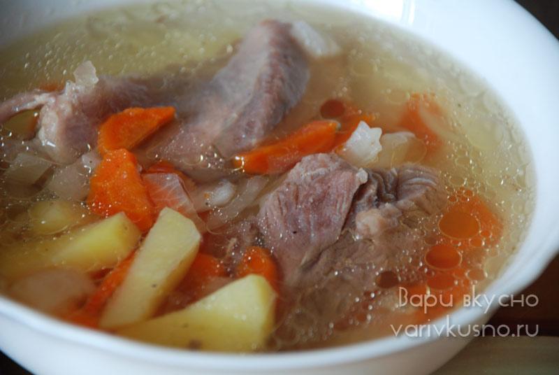 Мясо индейки суп рецепт