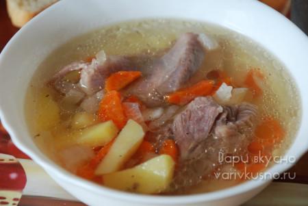 рецепт супа из индейки для мультиварки-скороварки