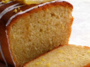 Американский пирог с лимонной цедрой и глазурью