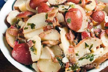 приготовление чешского картофельного салата