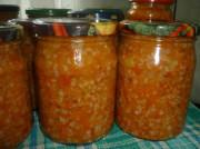 Овощной салат с гречкой на зиму: рецепты заготовок