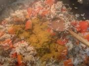 Рис с фаршем и овощами по-индийски