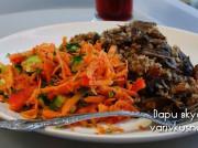 Гречка с грибами, луком и морковью на манер плова