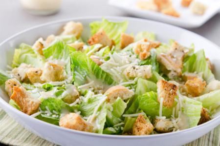 Cлоеный салат Цезарь
