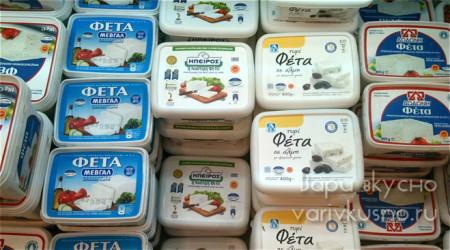 Как выбрать сыр Фета