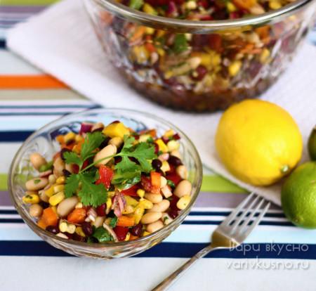 салат мексиканский рецепт с фото