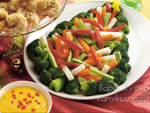 новогодний салат оливье с пошаговым фото