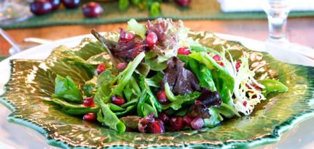 новогодний овощной салат без майонеза