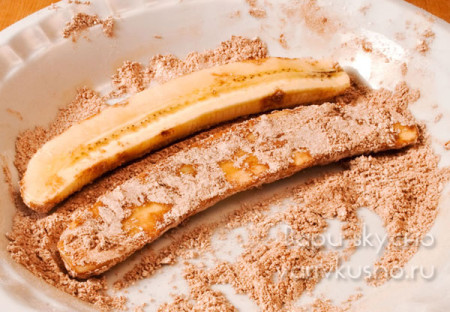 как жарить бананы с корицей