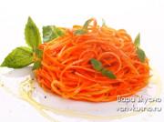 Морковь по-корейски в маринаторе