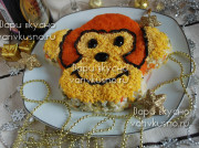 салат обезьяна фото