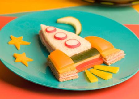 украшаем бутерброды для детей