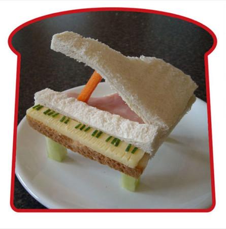 оформление бутербродов для детей фото