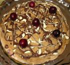 Торт из овсяного печенья со сметанным кремом