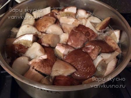 маринованные белые грибы пошаговый рецепт
