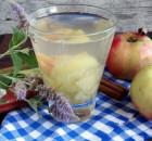 Компот из яблок в кастрюле рецепт