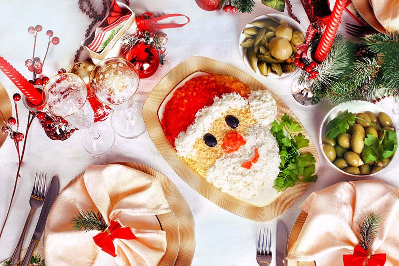 Рецепты новогоднего стола 2017 года пошагово