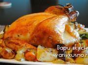Как готовить курицу в духовке в рукаве целиком
