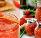 Хреновина из помидор с чесноком