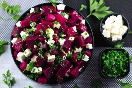простой рецепт салата со свеклой