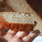 пшенично ржаной хлеб в духовке