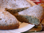 Сладкий пирог с ржаной мукой, кокосовой стружкой, маком и корицей в мультиварке