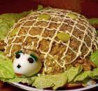 Салат Черепаха рецепт и как украсить