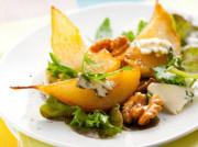 Салат с грушей и сыром: фета, с плесенью, козий, горгонзола, рокфор