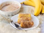 Жареные бананы с корицей по-восточному: 3 рецепта