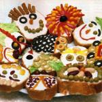 бутерброды на праздничный стол для детей фото