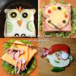 прикольные бутерброды для детей