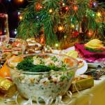 блюда на новый год Петуха
